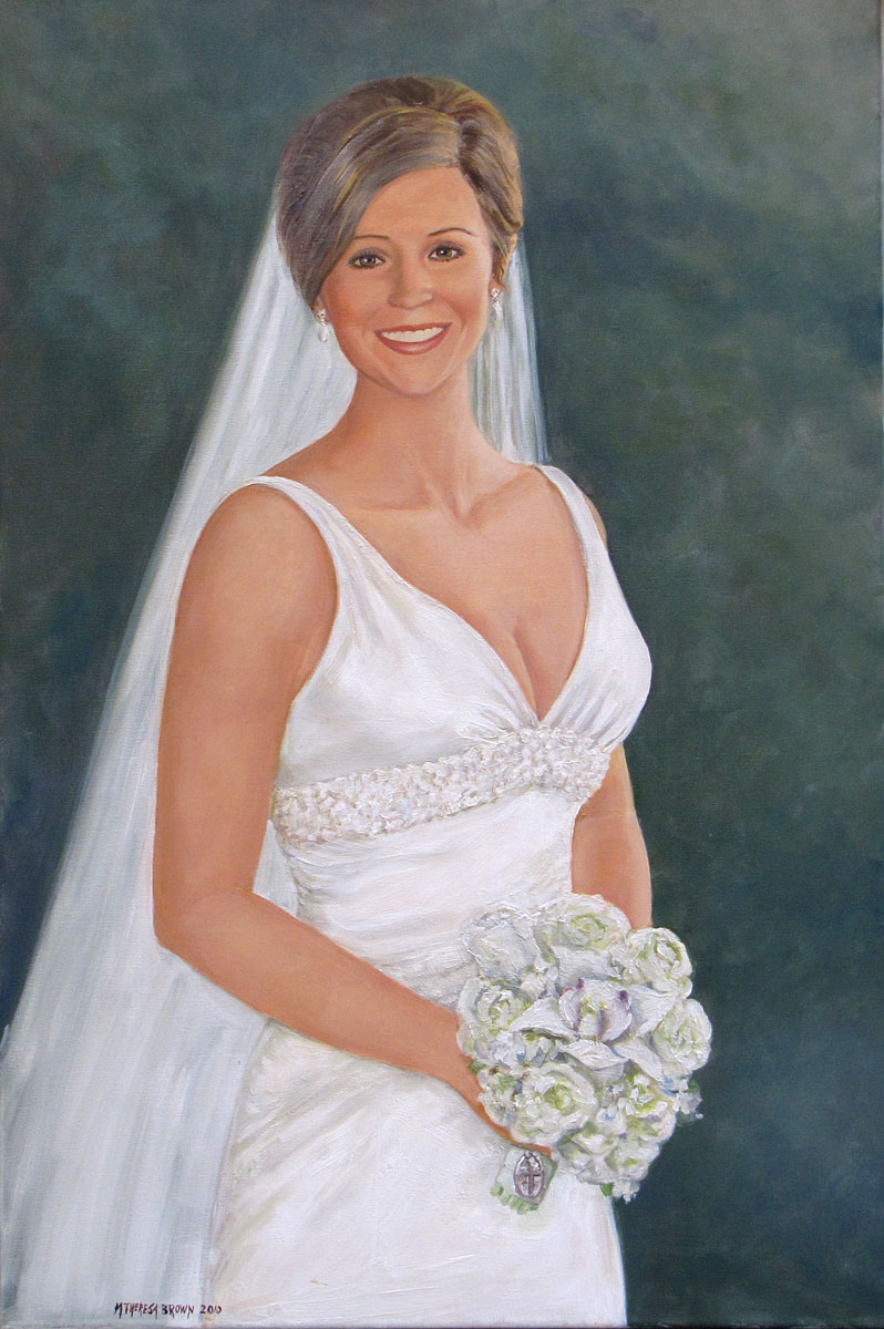 Bridal Oil Portrait